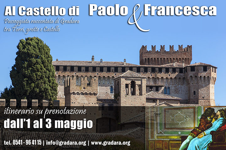 Gradara, ponti di primavera al Castello di Paolo e Francesca