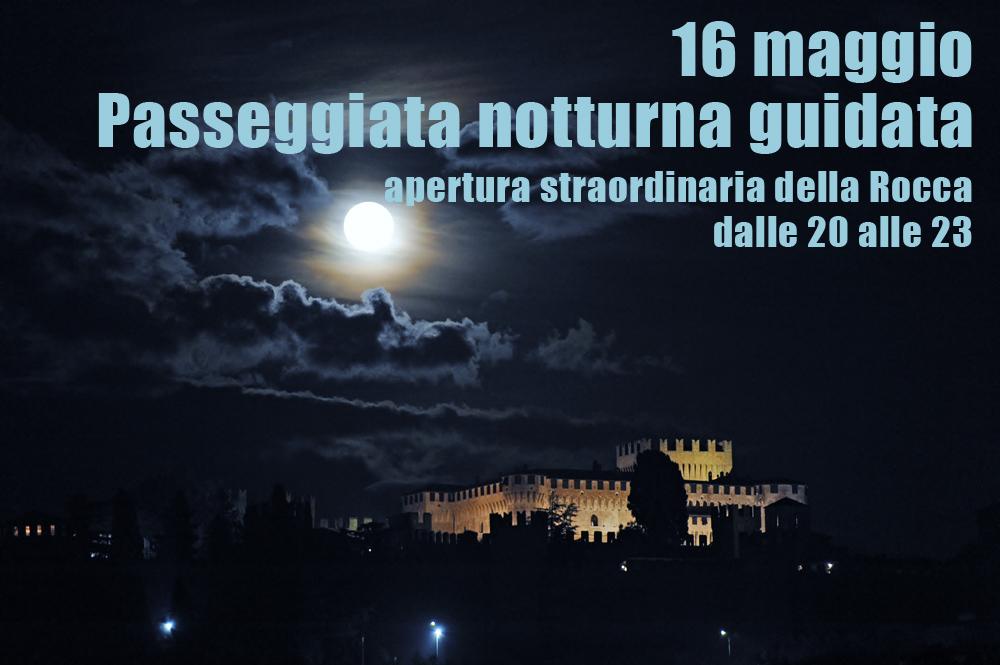 Notturno alla Rocca con Paolo e Francesca
