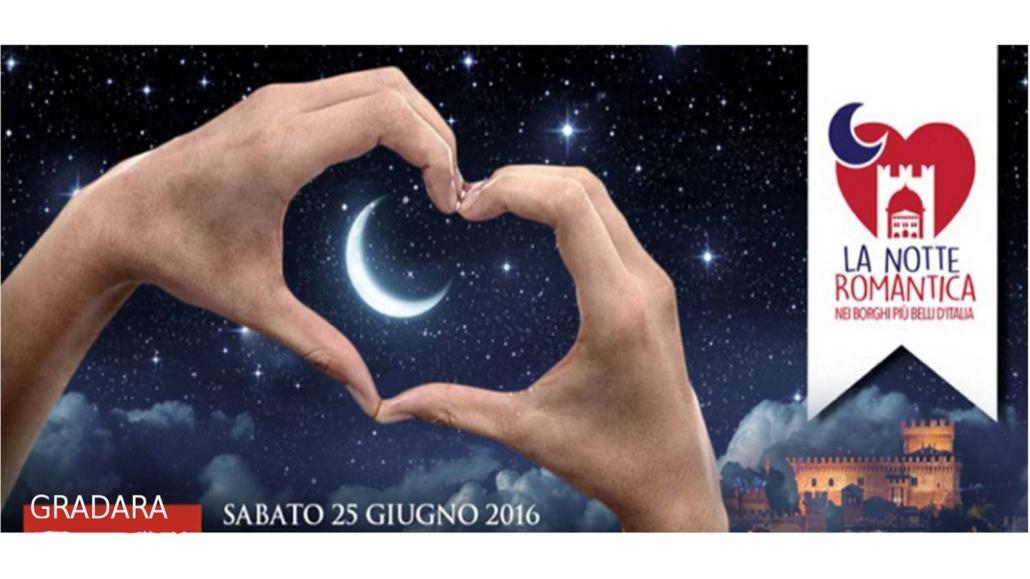 Notte Romantica, sabato 25 giugno