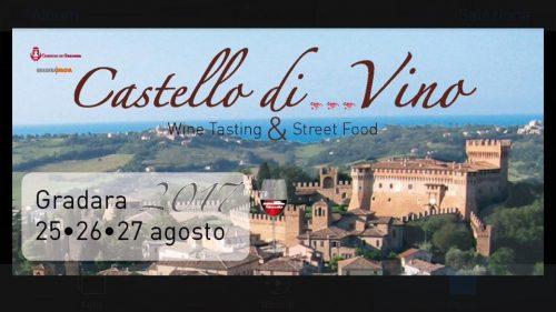 Castello di...Vino 25-26-27 agosto 2017