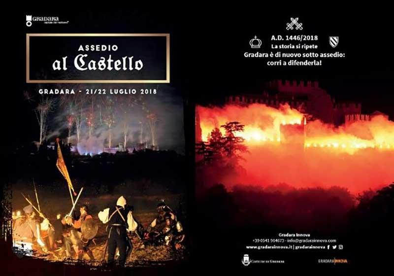 Locandina Assedio al Castello di Gradara