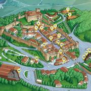 Mappa di Gradara