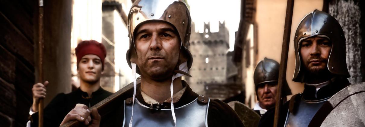 Soldati medievali a Gradara