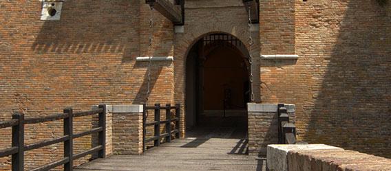 Ingresso al Castello di Gradara