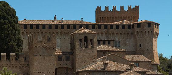 Vista sul Castello di Gradara