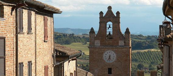 Torre dell'Orologio di Gradara