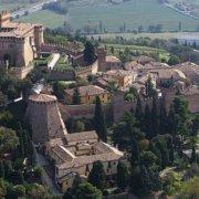 Vista panoramica del Castello di Gradara