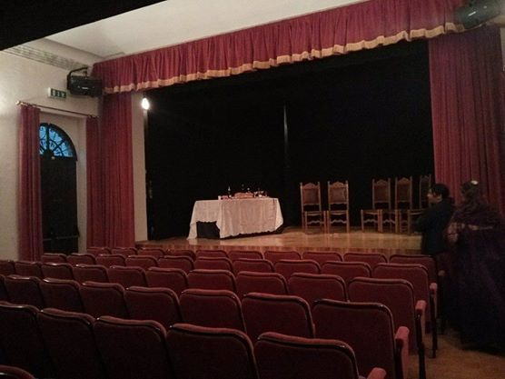 Teatro COmunale di Gradara Interni