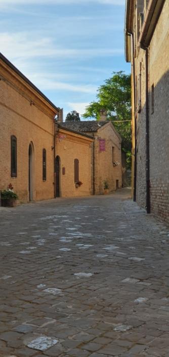 Angoli del borgo di Gradara