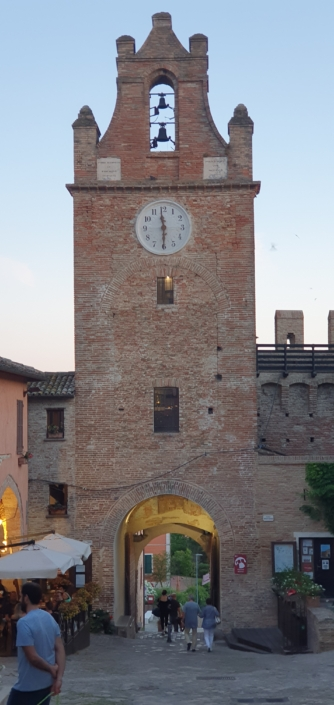 Torre dell'orologio Gradara