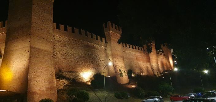 Mura del Castello di Gradara