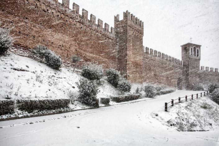 Mura del Borgo di Gradara