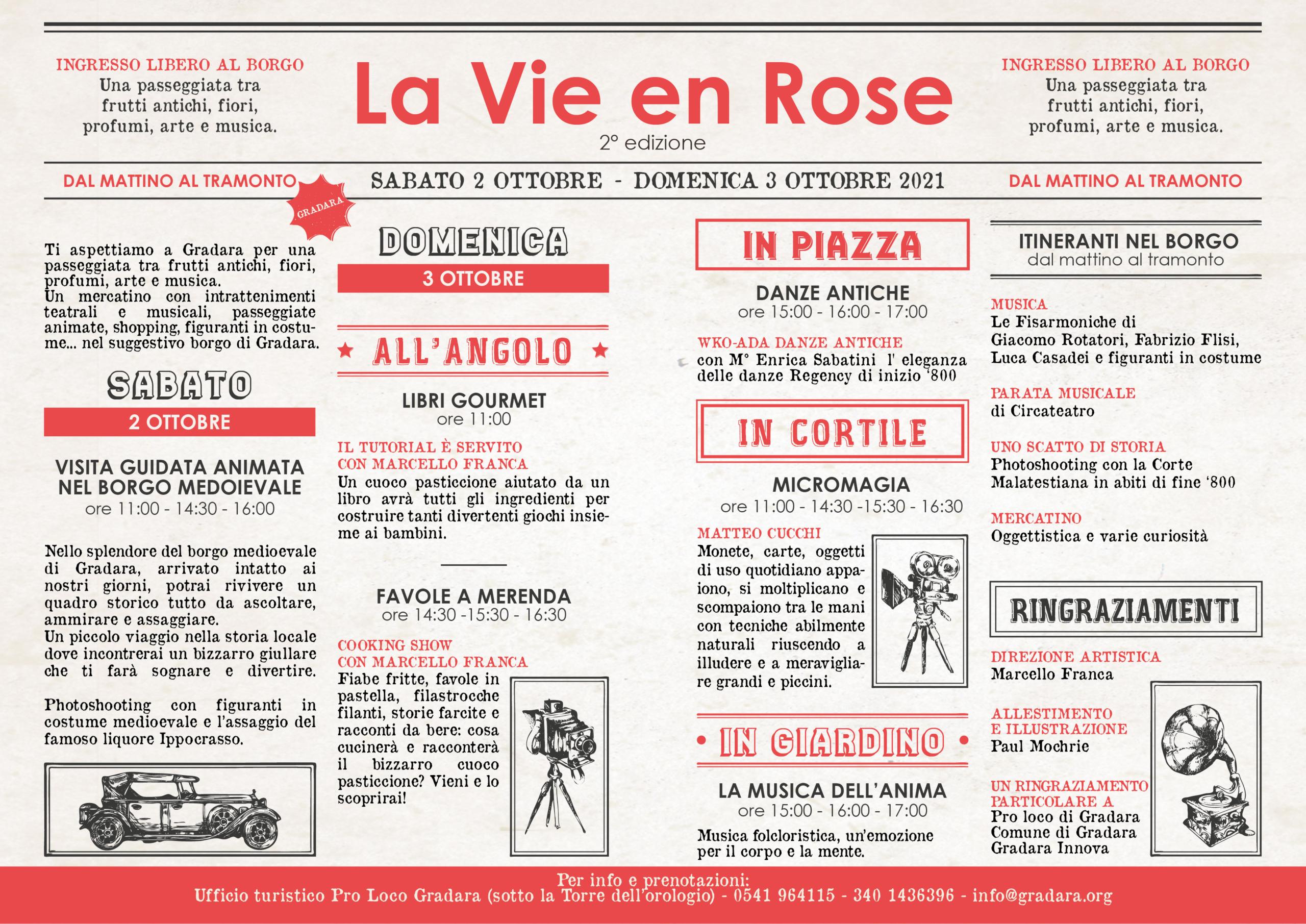 Programma La Vie en Rose